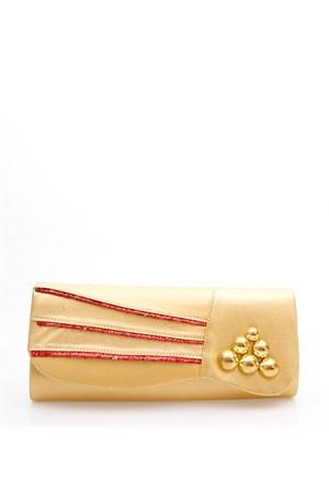 Rosa D01 Gold Abiye Çanta
