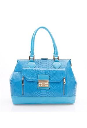 Rosa F9263 Blue Bayan Çanta