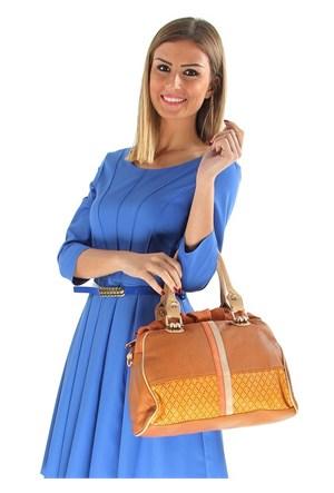 Rosa Q673-9 Brown Bayan Çanta