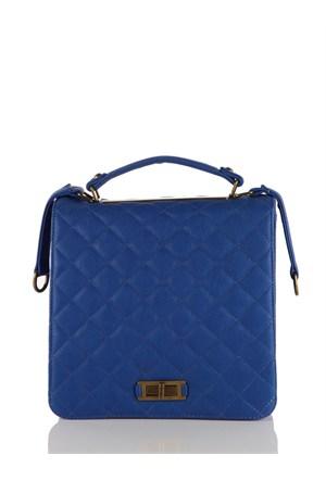 Jacqulıne 123-10 Mavi Çapraz Bayan Çanta
