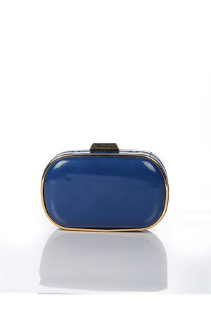 Mçs Bk13a930 Blue Abiye Çanta