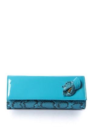 Mçs By15y3136-1 Blue Abiye Çanta