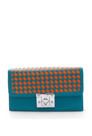 Rosa 904 Blue-Orange Portföy Çanta