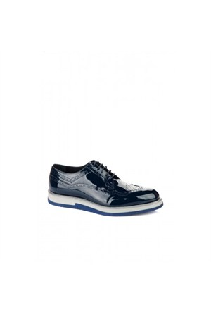 Elle 15Ksg7765-2 Erkek Ayakkabı - Lacivert Rugan