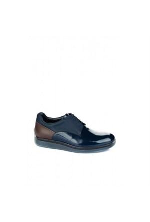 Elle 15Kpoe-5001 Erkek Ayakkabı - Lacivert Açma Kombin