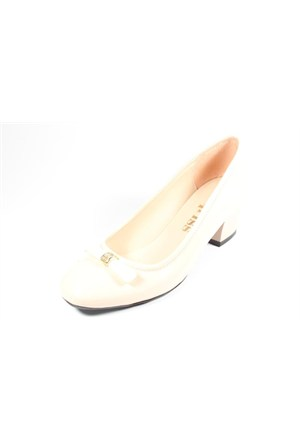 Capriss St11-11-467 Ten Rugan Topuklu Ayakkabı
