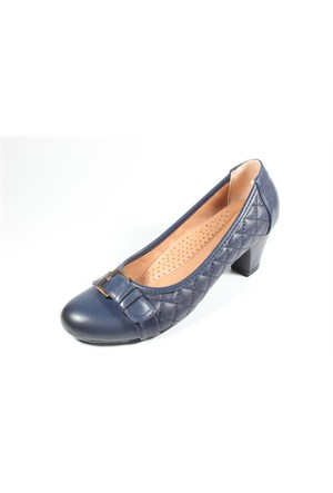 Capriss St11-11-480 Lacivert Topuklu Ayakkabı