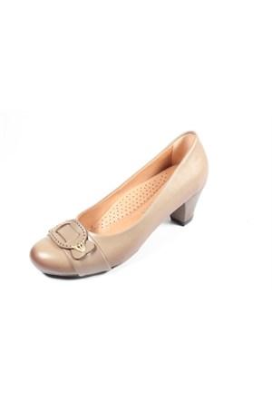 Capriss St11-11-483 Vizon Topuklu Ayakkabı