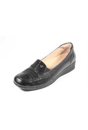Pollzenn 255-105405 Siyah Anne Ayakkabısı