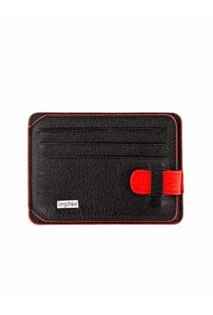 Cengiz Pakel Kartlık Siyah Kırmızı 2404