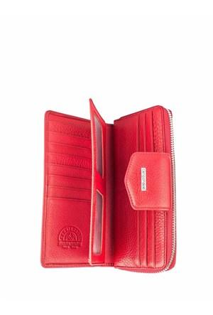 Cengiz Pakel Bayan Cüzdan Kırmızı 65133