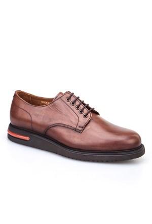 Cabani Oxford Günlük Erkek Ayakkabı Kahve Deri