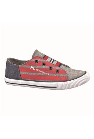 Lumberjack 294828 Gri Kırmızı Unisex Çocuk Ayakkabı