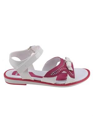 Seventeen 901 Beyaz Kız Çocuk Sandalet