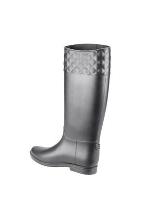 U.S. Polo Assn. A3325084 Siyah Kadın Yağmur Çizmesi