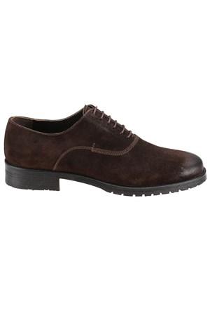 Cordovan 6764 M 1031 Kahverengi Erkek Süet Deri Ayakkabı