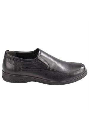 Flexall 2 M 1493 Siyah Erkek Deri Ayakkabı