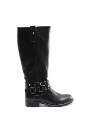 Miss F F17028 Siyah Kadın Çizme