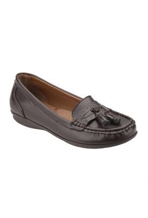 Polaris 52.156005.Z Kahverengi Kadın Ayakkabı
