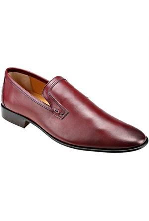 Garamond 2359 M 1366 Bordo Erkek Deri Ayakkabı