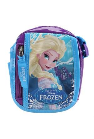 Frozen 86090 Mavi Kız Çocuk Omuz Çantası
