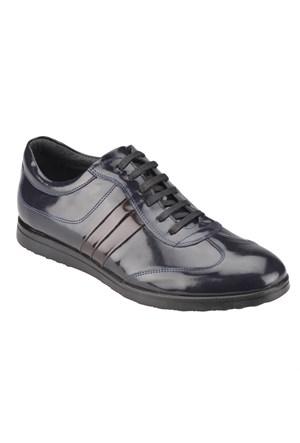 Salvano 49333-4 M 1618 Lacivert Erkek Deri Ayakkabı