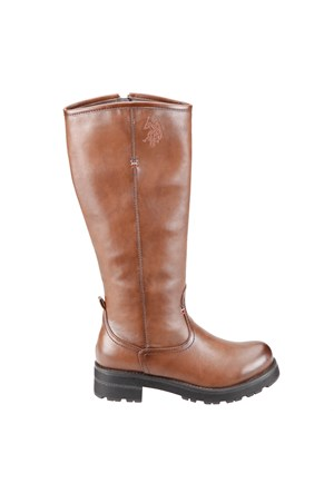 U.S. Polo Assn. A3326334 Kahverengi Kadın Çizme