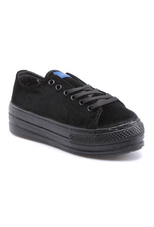 Jj-Stiller D4575-K Siyah Kadın Ayakkabı