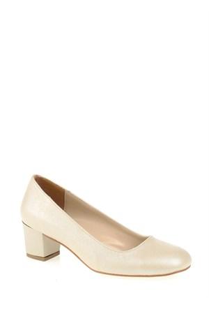 Derigo Krem Kadın Ayakkabı 2818242