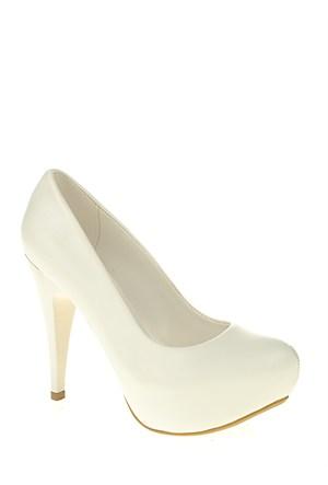 Derigo Beyaz Kadın Ayakkabı 181801