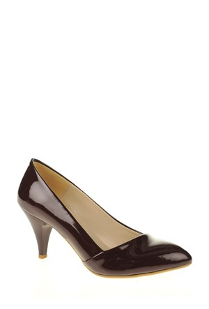 Derigo Bordo Rugan Kadın Ayakkabı 181802