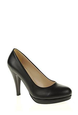 Derigo Siyah Mat Kadın Ayakkabı 181803