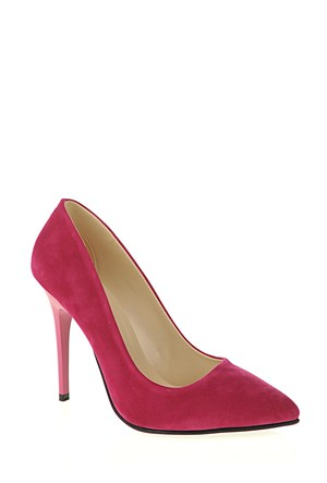 Derigo Fuşya Süet Kadın Ayakkabı 231804