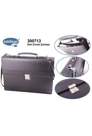 Addison 300713 SİYAH Evrak Çantası