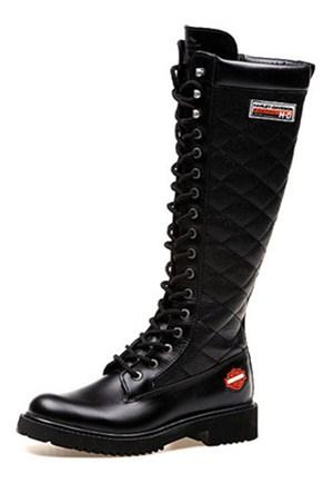 Harley Davidson Rem Black Kadın Çizme