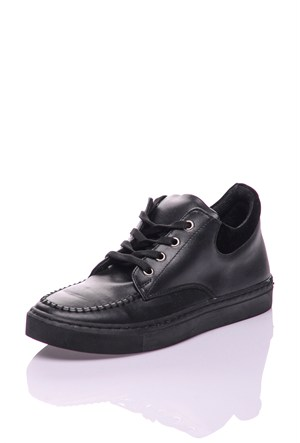 Dnc Siyah Cilt Kadın Ayakkabı 10410201