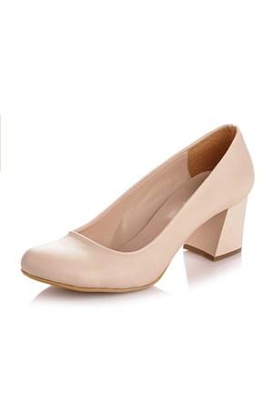 Sothe MAS-016 Ten Bayan Klasik Topuklu Ayakkabı