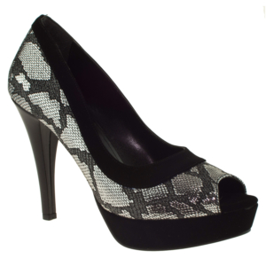 ali solmaz 3093 topuklu gri kadın abiye ayakkabı - 35 - siyah