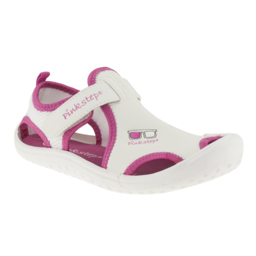 Pink Step Jupiter-4 Beyaz Çocuk Sandalet