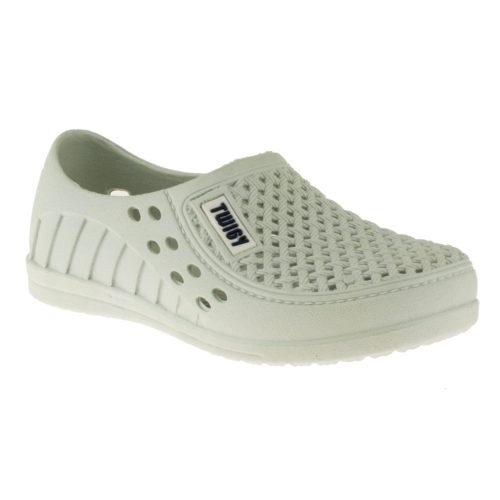 Twigy 0952 Delikli Beyaz Çocuk Ayakkabı
