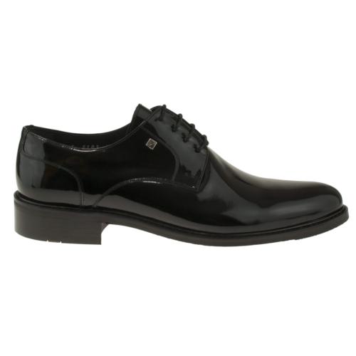 Fosco 6103 Bağlı Kasik Siyah Erkek Ayakkabı