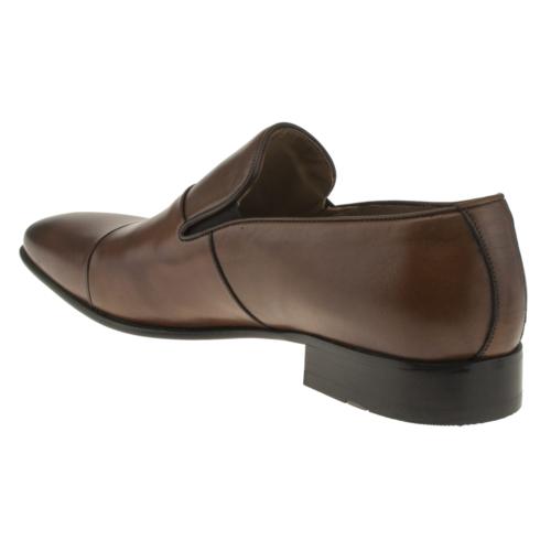 Fosco 6518 Sade Mokasen Klasik Taba Erkek Ayakkabı