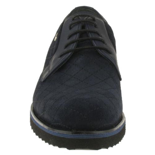 Fosco 6545 Dikisli Bağlı Kasik Lacivert Erkek Ayakkabı
