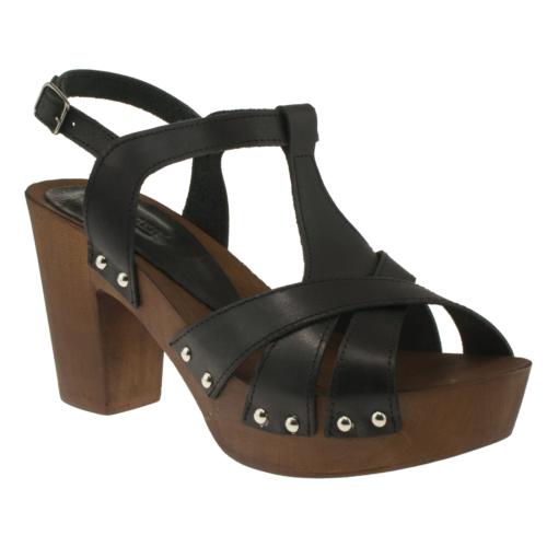 Greyder 6Y2ts55336 Zn Trendy Siyah Kadın Sandalet