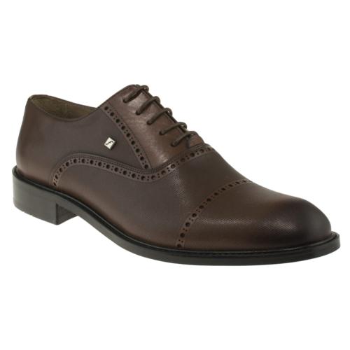 Fosco 6606 Bağlı Klasik Taba Erkek Ayakkabı