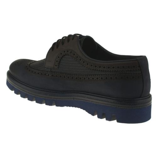 Fosco 6584 Bağlı Oxford Lacivert Erkek Ayakkabı