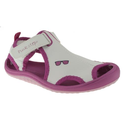 Pink Step Jupiter4 Beyaz Çocuk Sandalet