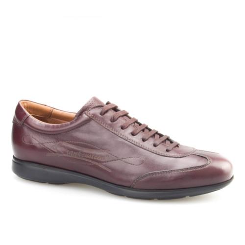 Cabani Bağcıklı Günlük Erkek Ayakkabı Kahverengi Napa