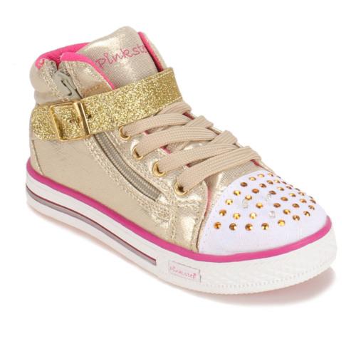 Pink Step A3310499 Altın Fuşya Kız Çocuk Sneaker Ayakkabı