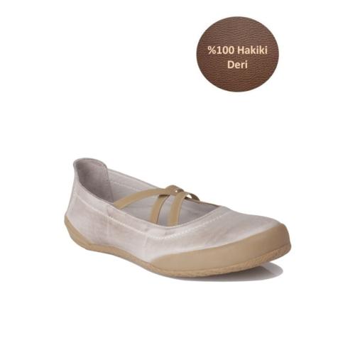 Loggalin 313009 090 872 Kadın Gri Günlük Ayakkabı